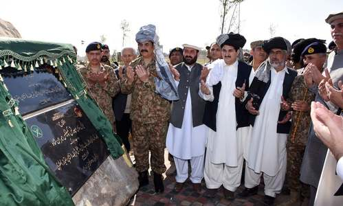 Gen Raheel lauded the tribal elders for their full support to the security forces. —ISPR