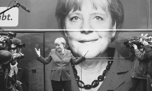 Merkel to be the new 'leader of the free world'?