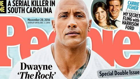 Dwayne 'The Rock' Johnson is People Magazine's Sexiest Man Alive