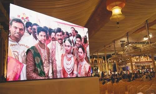 Tycoon hosts big, fat Indian wedding amid cash crunch