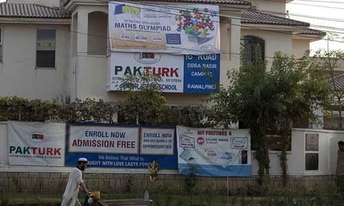 Pak-Turk schools saga