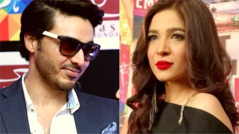 Ayesha Omar and Ahsan Khan to star in upcoming rom-com Rehbra