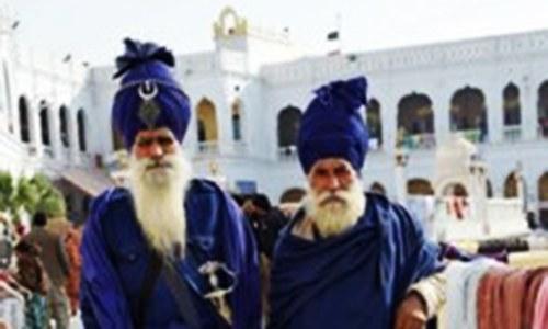 Pilgrims celebrate Baba Guru Nanak's 548th birth anniversary