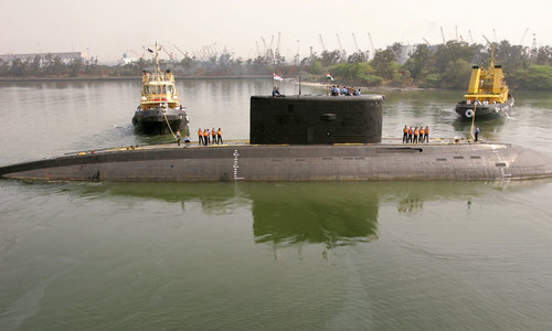 Tools of war: How an Indian submarine was pushed away from Pakistani waters