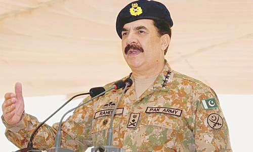 Countdown to a new army chief begins