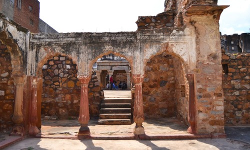 The passageways of Delhi's Zafar Mahal echo a forgotten past