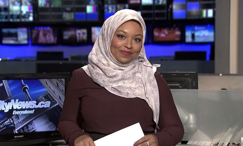 Reporter becomes Canada's first hijab-clad news anchor