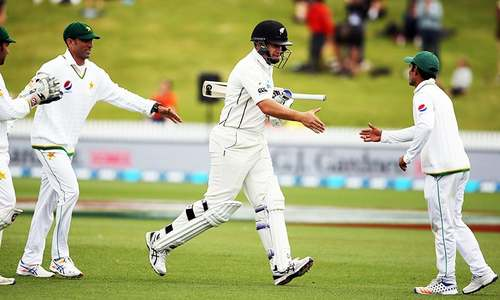 Taylor ton guides NZ into series-clinching position against Pakistan after nearly 30 years