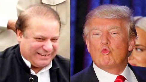 Stuff Nawaz Sharif and Donald Trump can do together now that they're basically besties