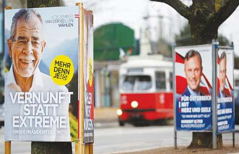Austria's Nazi past encroaches on election campaign