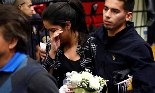 One year on, San Bernardino recalls terror attack