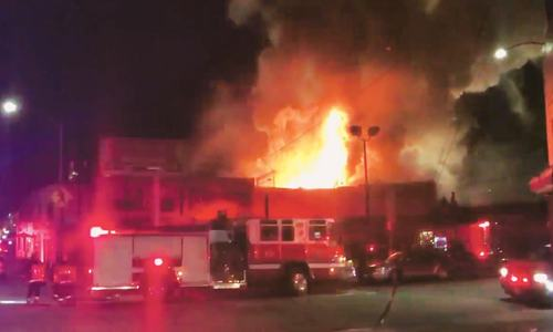 Nine dead, 25 missing after fire at California rave party