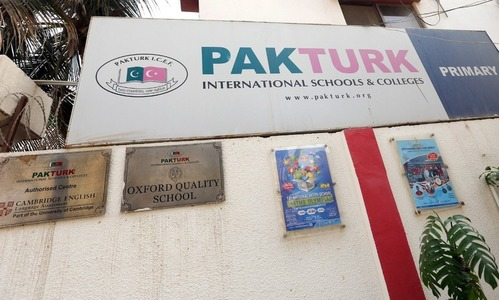 Pak-Turk schools: concerns aired over change of administration