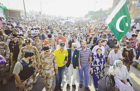 'Walk for peace' held at Seaview