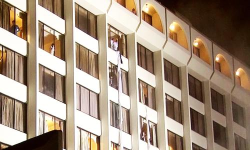 12 killed in fire at Karachi's Regent Plaza hotel