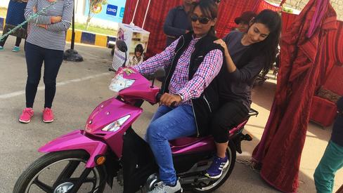 I learned to ride a motorcycle, but as a woman will I be safe on Karachi's roads?