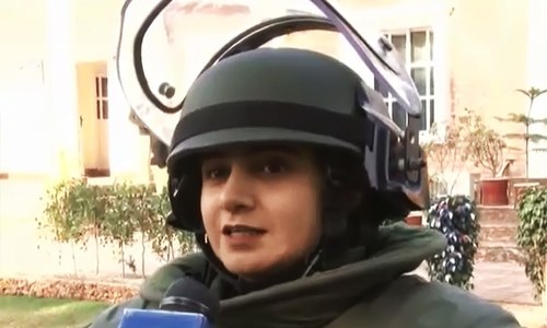 Defusing bombs, defying stereotypes: KP woman to become first female BDU member
