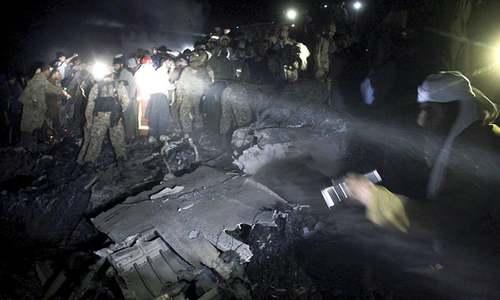 PIA flight PK-661 crashes enroute to Islamabad, no survivors