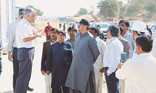 Reservoir site in Thar cannot be changed, says Murad