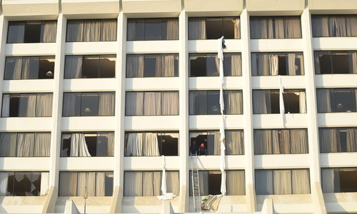 Regent Plaza fire: Police register case against owners, management