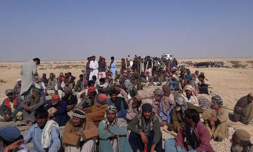 Farmers protest against govt for allotting 'hunting' land to Qatari princes