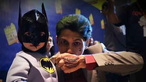 Superheroes and scary villians come out in full force at Karachi Film & Comic Con