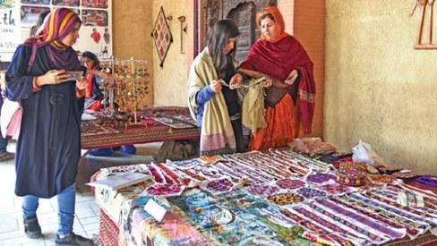 Handicrafts exhibition marks National Working Women's Day