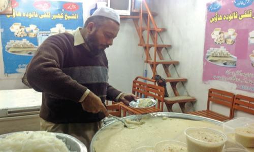 Qissa Khawani's signature dessert