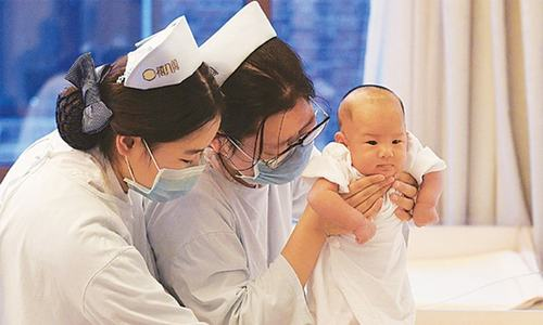 Baby boom after China ends one-child rule