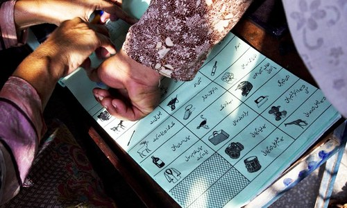 Over 95pc women in 17 constituencies didn't vote in 2013