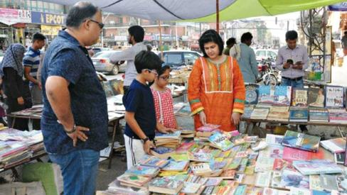 Pindi's 50-year-old weekly book bazaar closed down