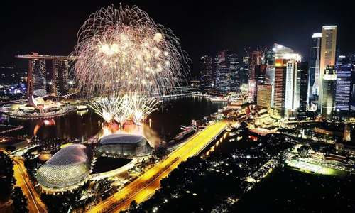 Celebrations, fireworks across the world mark New Year's eve