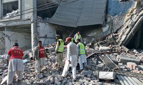 Six workers injured in factory roof collapse