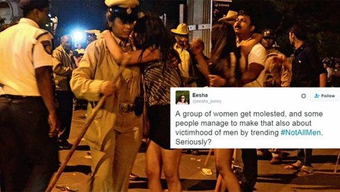 Mass molestation in Bangalore proves how #NotAllMen is futile