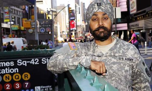 Quietly, US military opens up to Sikhs