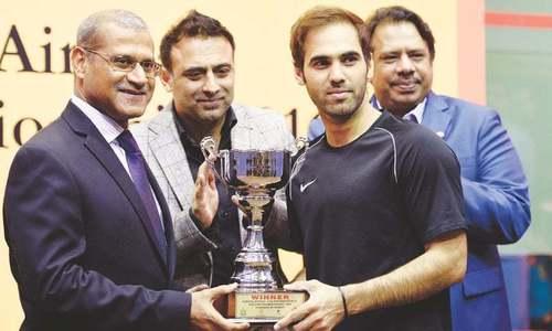 Farhan Mehboob beats Hong Kong's Leo Au to win international Squash tournament