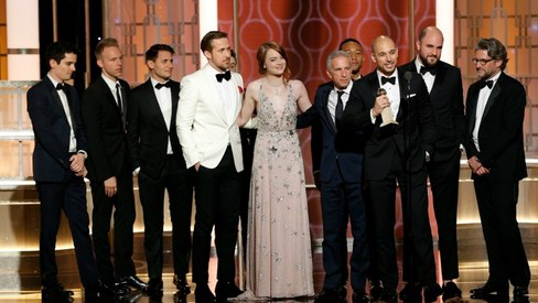 La La Land and The Night Manager win big at the Golden Globes
