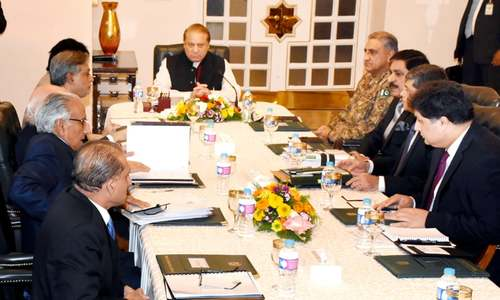 Govt begins talks for revival of military courts