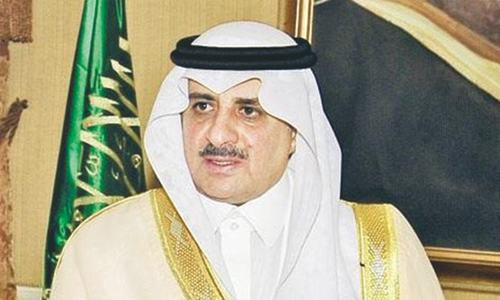 Saudi governor in Chagai for hunting