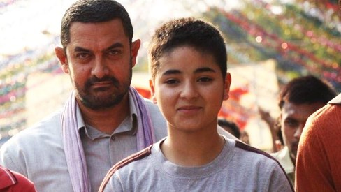 Aamir Khan applauds Dangal co-star Zaira Wasim, calls her his 'role model'