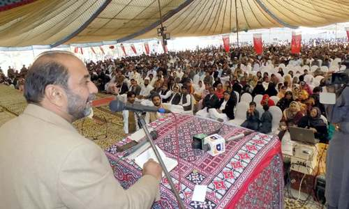 Hundreds attend G.M. Syed's  113th birth anniversary programme
