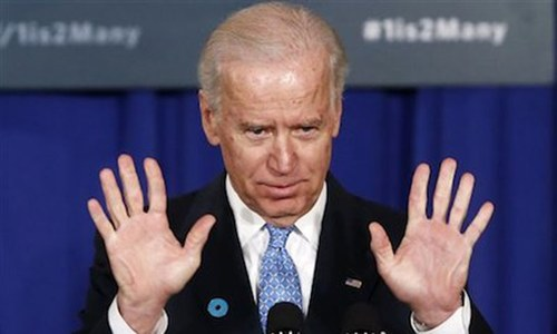 Biden hits Putin's Russia in final address as VP