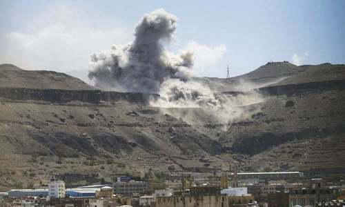 Saudi-led air strikes kill 29 Yemen rebels
