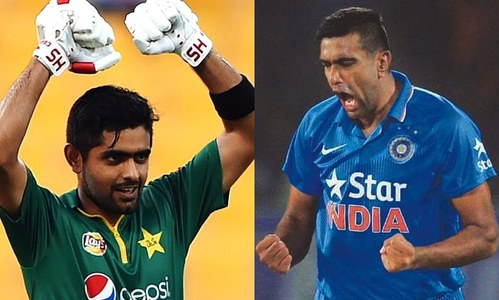 Across Time: Ravichandran Ashwin and Babar Azam