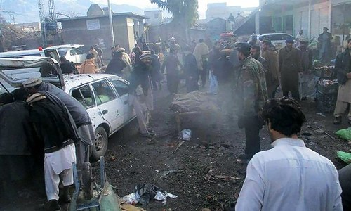 Blast in Parachinar vegetable market kills 20
