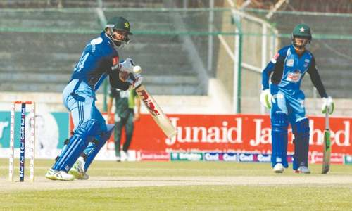 Blazing Shahzaib century inspires KW into Cup final