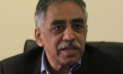 PML-N's Muhammad Zubair to take charge as governor of Sindh