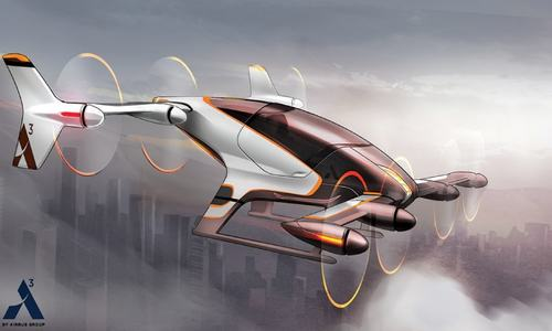 A commuter's dream: entrepreneurs race to develop flying car