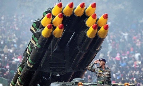 India's defence budget hiked 10pc to INR 2.74 trillion