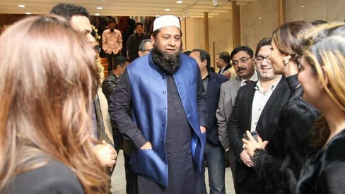 Inzamam ul Haq launched a clothing store and all the cricketers came to celebrate